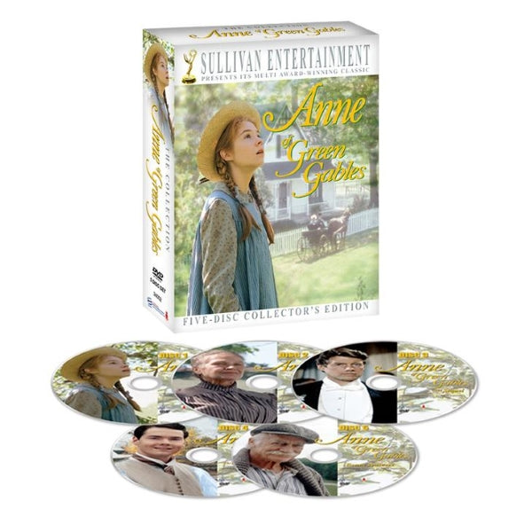 Anne Of Green Gables 5 Disc Collectors Edition Dvd Box Set
