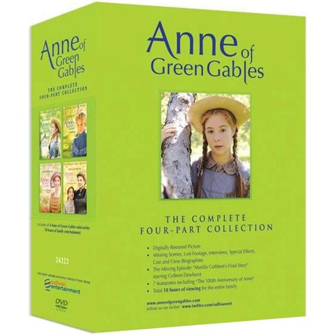 Anne of Green Gables: The Complete Four-Part Collection [DVD Box Set]