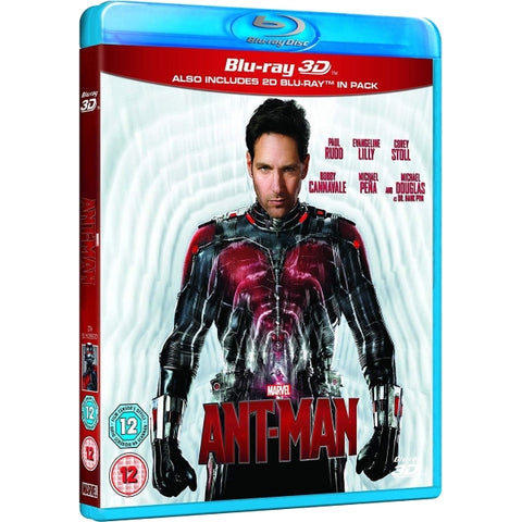 Marvel's Ant-Man [3D + 2D Blu-Ray]