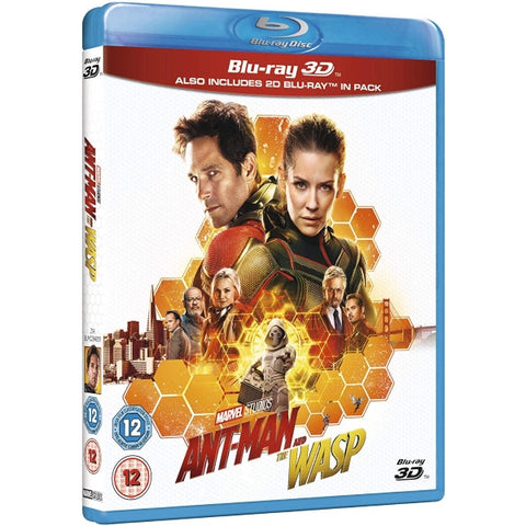 Marvel's Ant-Man and The Wasp [3D + 2D Blu-Ray]