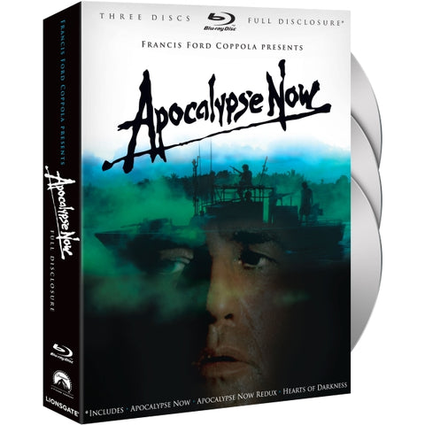 Apocalypse Now: Full Disclosure Edition [Blu-Ray 3-Movie Collection]