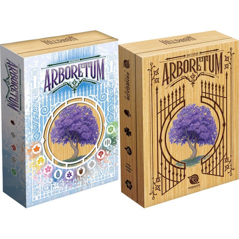 Arboretum - Deluxe Edition [Card Game, 2-4 Players]