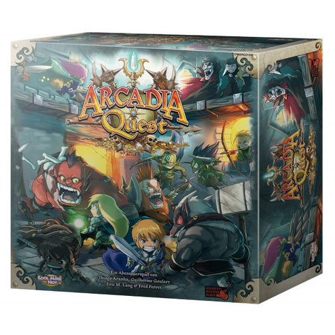 Arcadia Quest [Board Game, 2-4 Players]