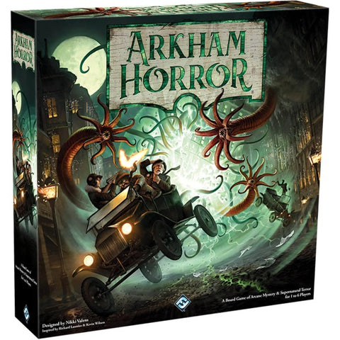 Arkham Horror - 3rd Edition [Board Game, 1-8 Players]