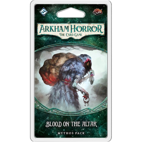 Arkham Horror: The Card Game - Blood on the Altar Mythos Pack [Card Game, 1-4 Players]