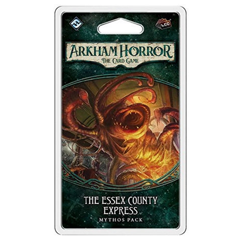 Arkham Horror: The Card Game - The Essex County Express Mythos Pack [Card Game, 1-4 Players]