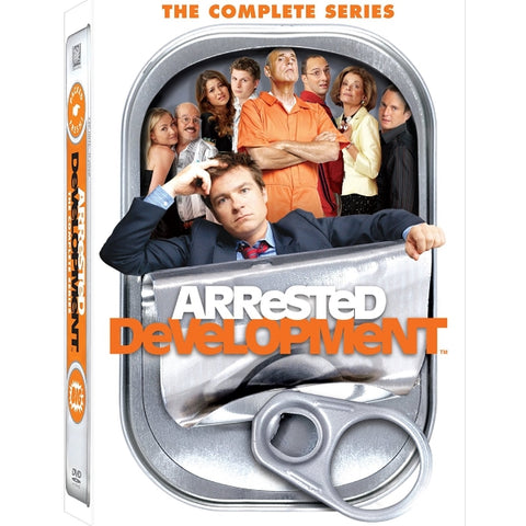Arrested Development: The Complete Seasons 1-4 [DVD Box Set]
