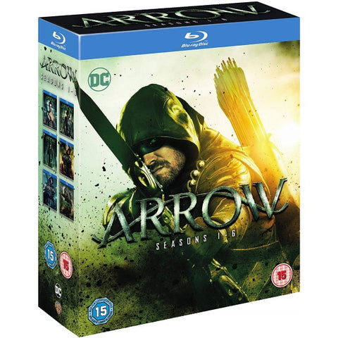 Arrow - Seasons 1-6 [Blu-Ray Box Set]