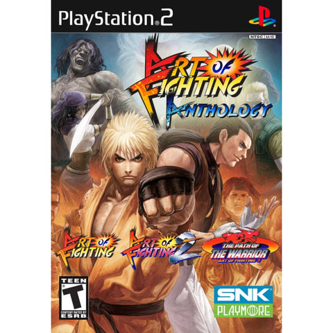 Art of Fighting Anthology [PlayStation 2]