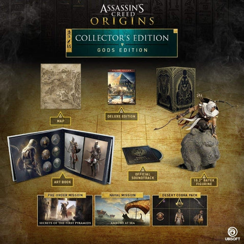Assassin's Creed Origins - Gods Collector's Edition [PlayStation 4]