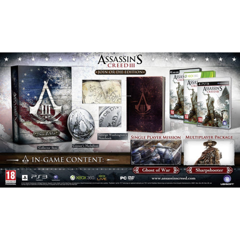 Assassin's Creed III - Join or Die Edition [PlayStation 3]
