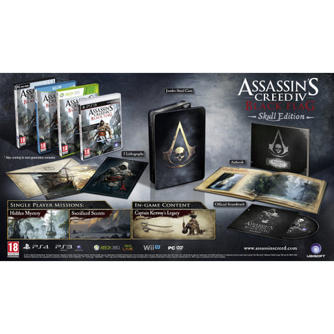 Assassin's Creed IV: Black Flag - Skull Edition [PlayStation 3]