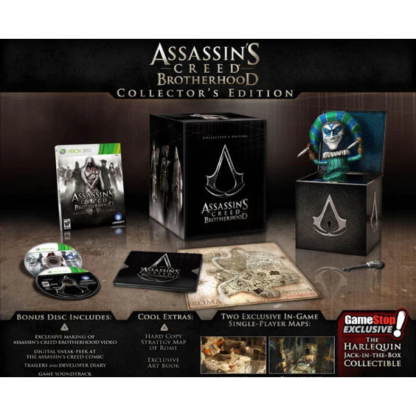 Assassin's Creed: Brotherhood - Collector's Edition + Harlequin Jack-in-the-Box [Xbox 360]