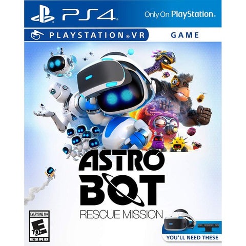 Astro Bot: Rescue Mission - PSVR [PlayStation 4]
