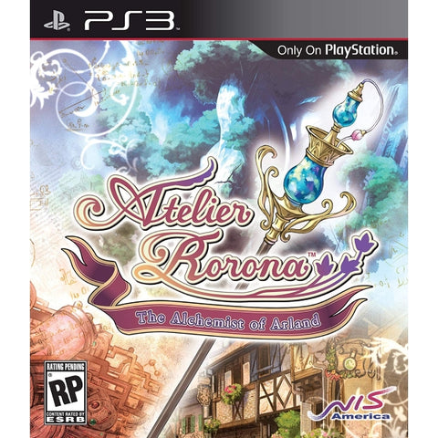 Atelier Rorona: The Alchemist Of Arland [PlayStation 3]