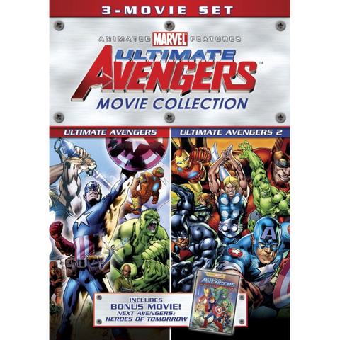 Ultimate Avengers Movie Collection [DVD 3-Movie Collection]