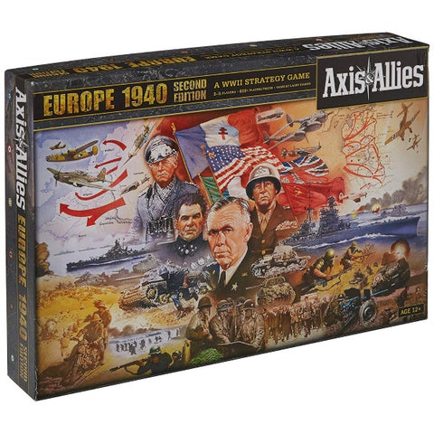 Axis & Allies Europe 1940 [Board Game, 2-6 Players]