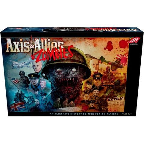 Axis & Allies & Zombies [Board Game, 2-5 Players]