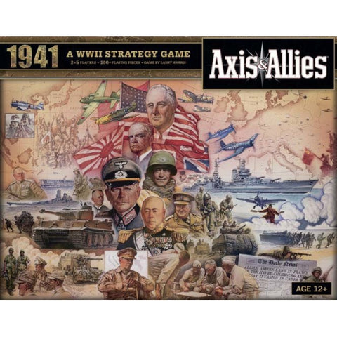 Axis and Allies 1941 [Board Game, 2-5 Players]
