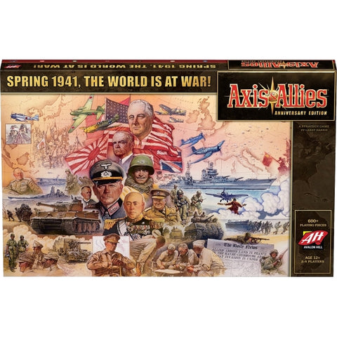 Axis & Allies - Anniversary Edition [Board Game, 2-6 Players]