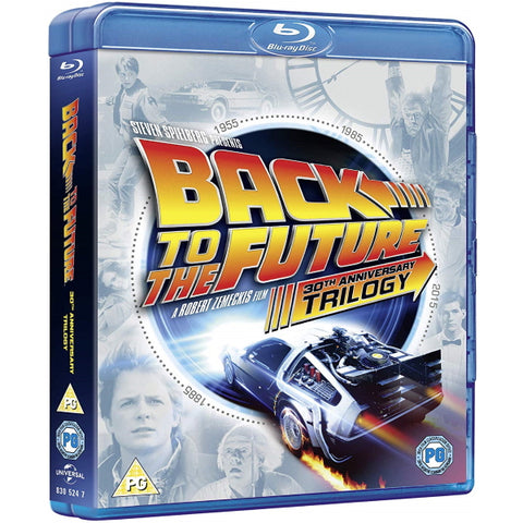 Back to the Future: 30th Anniversary Trilogy [Blu-Ray Box Set]