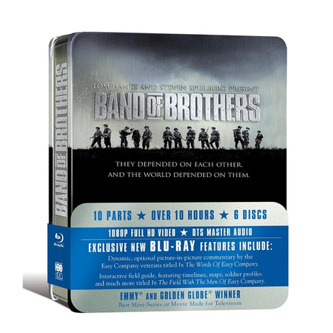 Band of Brothers: The Complete Series SteelCase [Blu-Ray Box Set]