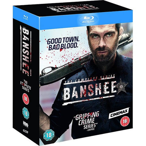 Banshee - Seasons 1-4 [Blu-Ray Box Set]