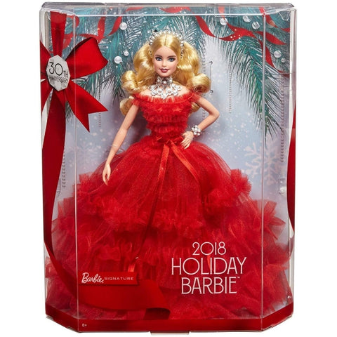 Barbie 2018 Holiday Doll - 30th Anniversary Barbie Signature Edition [Toys, Ages 6+]