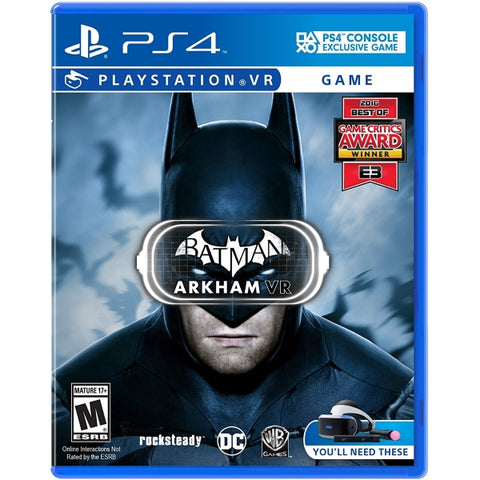 Batman: Arkham VR - PSVR [PlayStation 4]