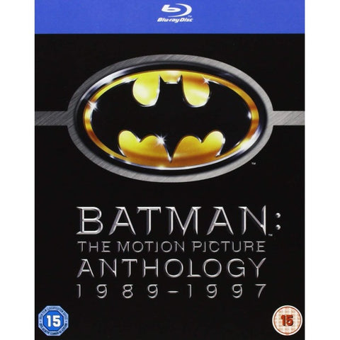 Batman: The Motion Picture Anthology 1989 - 1997 [Blu-Ray Box Set]