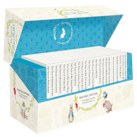 Beatrix Potter - The World of Peter Rabbit Presentation Box [23 Hardcover Book Set]