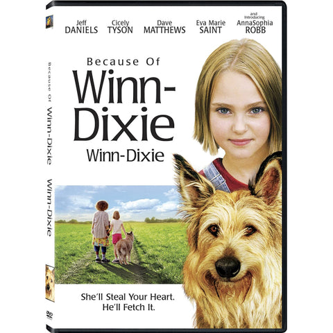 Because of Winn-Dixie [DVD]