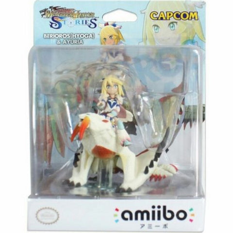 Berioros (Hyoga) & Ayuria Amiibo - Monster Hunter Stories Series [Nintendo Accessory]