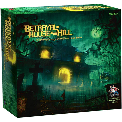 Betrayal at House on the Hill - 2nd Edition [Board Game, 3-6 Players]