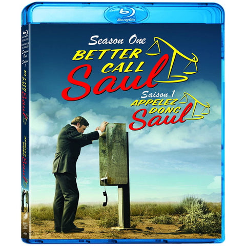 Better Call Saul: Season One [Blu-Ray + Digital Box Set]