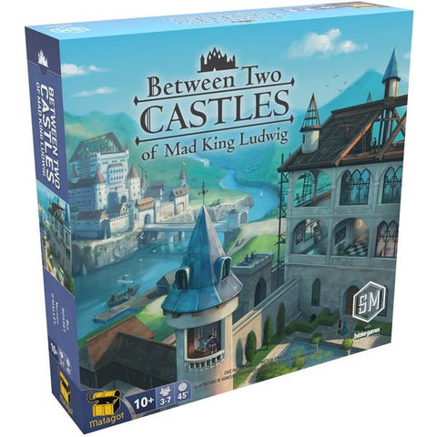 Between Two Castles of Mad King Ludwig [Board Game, 2-7 Players]