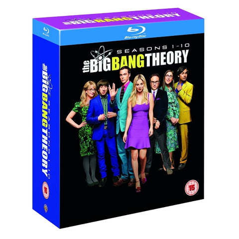 The Big Bang Theory: Seasons 1-10 [Blu-Ray Box Set]