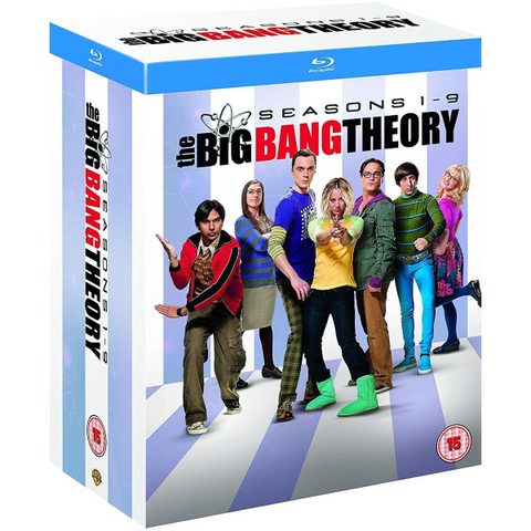 The Big Bang Theory: Complete Seasons 1 - 9 [Blu-Ray Box Set]