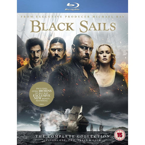 Black Sails: The Complete Collection - Seasons 1-4 [Blu-ray Box Set]