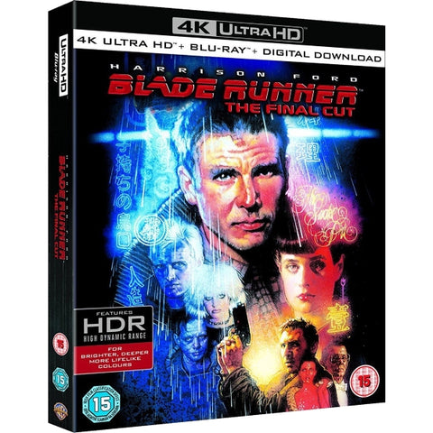 Blade Runner: The Final Cut - 4K Special Edition [Blu-Ray + 4K UHD + Digital]