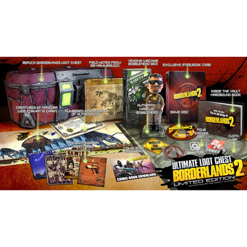 Borderlands 2: Ultimate Loot Chest - Limited Edition [PlayStation 3]