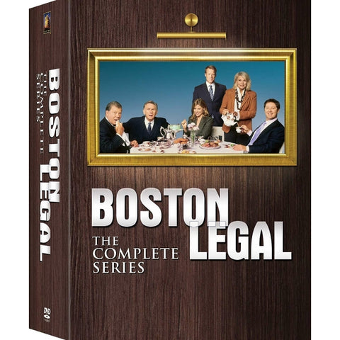 Boston Legal: The Complete Series - Seasons 1-5 [DVD Box Set]