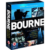 The Bourne Collection 4 Film Box Set [Blu-Ray Box Set]