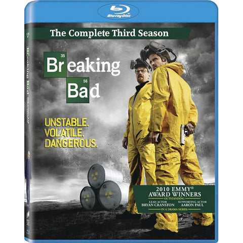 Breaking Bad: The Complete Third Season [Blu-Ray Box Set]