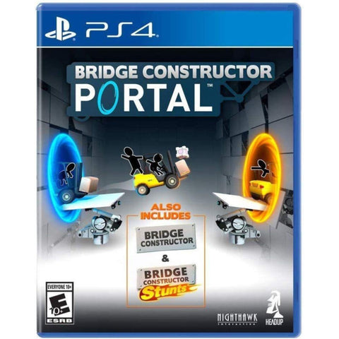 Bridge Constructor Portal [PlayStation 4]