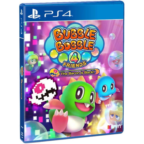 Bubble Bobble 4 Friends: The Baron is Back! [PlayStation 4]