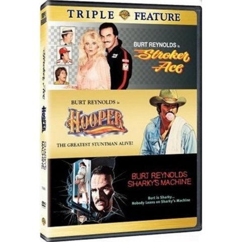 Burt Reynolds Triple Feature - Stroker Ace / Hooper / Sharky's Revenge [DVD 3-Movie Collection]