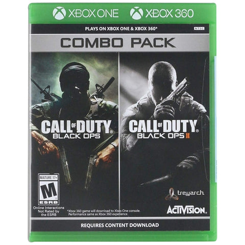 Call of Duty: Black Ops 1 & 2 Combo Pack [Xbox 360]