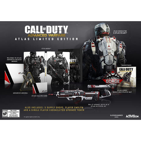 Call of Duty: Advanced Warfare - Atlas Limited Edition [Xbox 360]