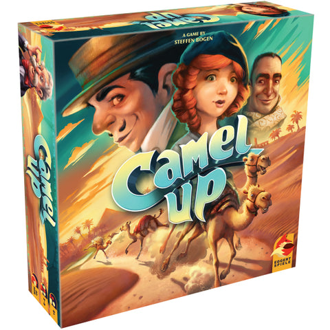 Camel Up - 2nd Edition [Board Game, 3-8 Players]